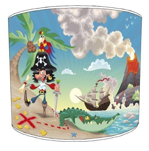 30cm piraat X Marks The Spot kinderen lampekaps Voor een tafellamp