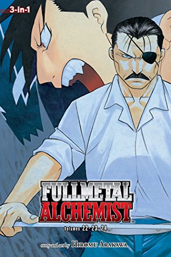 Fullmetal Alchemist 8: 3-in-1 Edition: Includes Vols. 22, 23 & 24