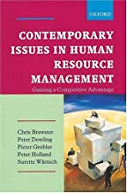 Contemporary Issues in Human Resources Management