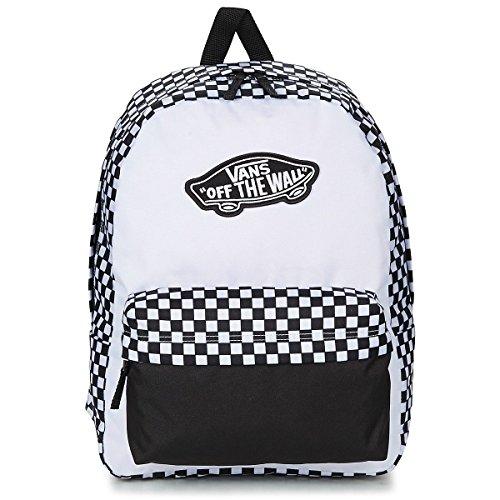 Vans Mochila de a diario, Black White Checkerboard (Negro) - V00NZ056M