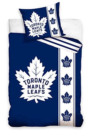 Official Merchandise Bettwäsche NHL Toronto Maple Leafs Belt, 140x200 + 70x90 cm