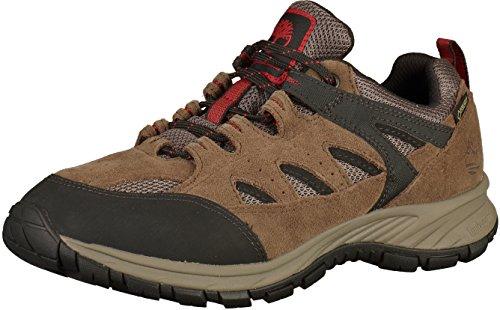 Timberland Herren Sadler Pass Waterproof Low Goretex Oxford Schuhe, Braun (Light Brown Suede), 44.5 EU