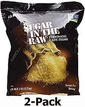 Sugar In The Raw Turbinado Cane Sugar, 6 lbs. (pack of 2)