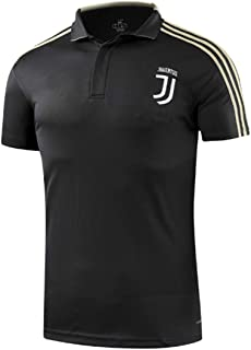 Juventus JUVE FC Soccer Polo Shirt for Mens Home Crest Club Shirt White