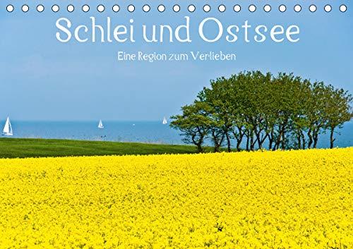 Schlei und Ostsee - Eine Region zum Verlieben (Tischkalender 2021 DIN A5 quer)