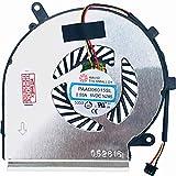 Foto (CPU – 3 Pin Version) – Ventola/Ventola Compatibile con MSI GE72VR 6RF, GL62, GL72, GL72, PE60, PE70, GE72 2QE (MS-1791), PE70, GE72VR 7RE Apache PRO (MS-179B)