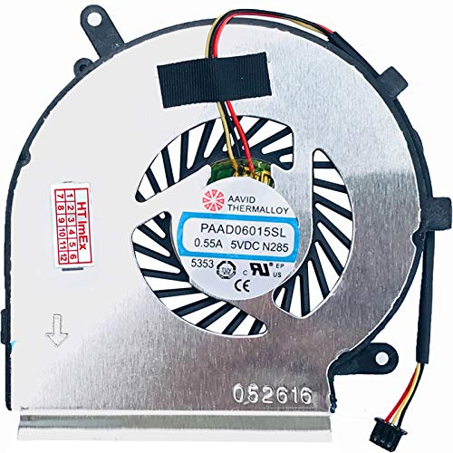 Cooling Fan Compatible with MSI GE72MVR 7RG (MS-179C), GE72VR 7RD (MS-179B), GE62 (MS-16J4), GE62 (MS-16J5), GE62 2QC, GE62, GE62 (MS-16J1), GE62 (MS-16J4)