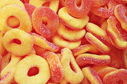 Dulce Plus Sour Peach Rings 1kg