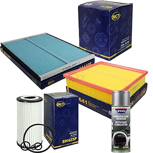 QR-Parts Set 85557557 SB 641 215995 SH 425 P ST 760 SA 1108 SCT FILTER + pulitore Presto