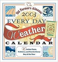 Old Farmers Almanac Everyday Weather Calendar