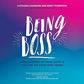Being Boss audiobook cover art