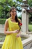 Belle 2017 Dress - Beauty & the Beast 2017 - New Belle Costume - Belle Yellow Dress - Belle Gold Ballgown - Belle Cosplay - Adult Dress