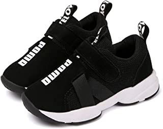 Daclay Kids Shoes Sneakers Fashion Letter Casual Light Mesh Comfortable Sports Running Single