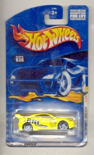 Hot Wheels 2001 First Editions: Toyoto Celica No. 24/36, Collector Car #036 by Mattel