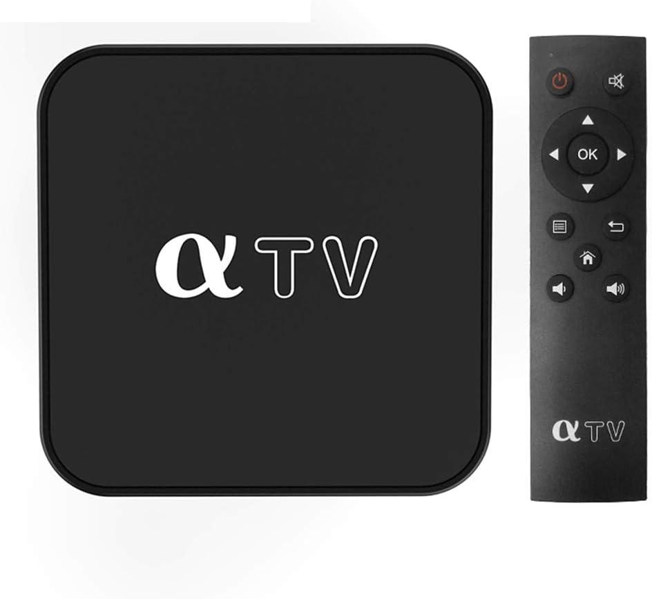 WMWHALE WiFi Smart TV Box, 8GB EMMC Linux Allwinner H313 Quad-Core Set Top Box, H.264 1080P 60Fps Video Encoding 4K HDR TV Box Media Player Android Box