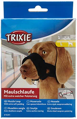 Trixie 19281 Maulschlaufe, Nylon, L, schwarz