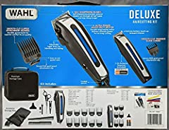 Includes hair clipper, detail battery trimmer, and haircutting accessories – everything needed to complete a successful haircut at home ULTRA POWER heavy duty motor delivers ultimate power for no-snag cutting Self-sharpening precision ground blades c...