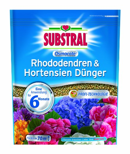 Substral–Concime Osmocote rododendri & ortensie–1,5kg