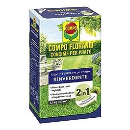 Compo 1340102005Granulaire Gazon Engrais, Rose
