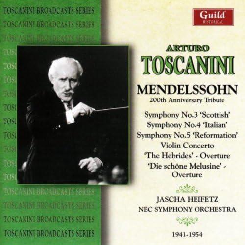 The NBC Symphony Orchestra, Jascha Heifetz & Edna Philips