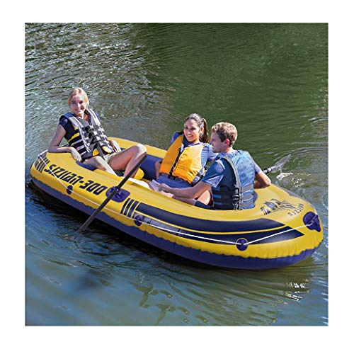 8Ft Mariner Inflatable Boat Set Series Dinghy Canoe Fishing Rafting Water Sports Kayak 3-Person...