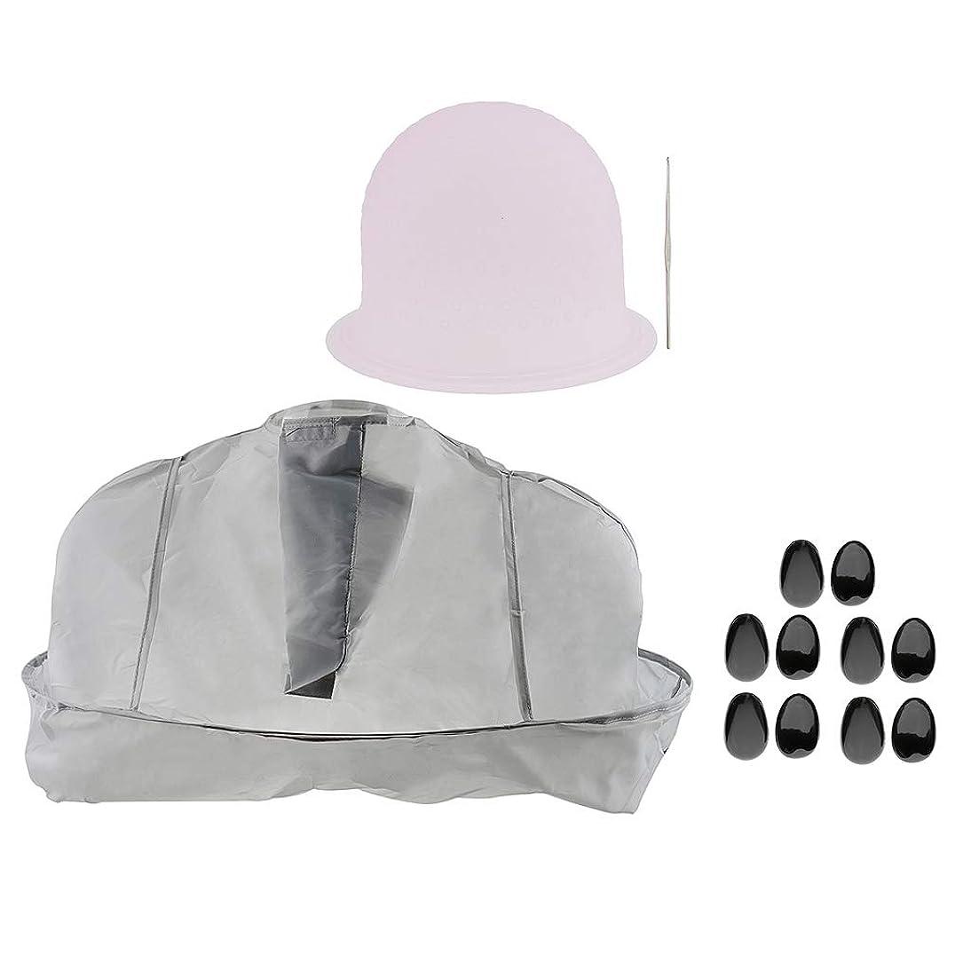 保証金淡い海洋B Blesiya ヘアサロン 美容院 ヘアカラー 色付け 帽子 キャップ 耳のカバー 美容ケープ