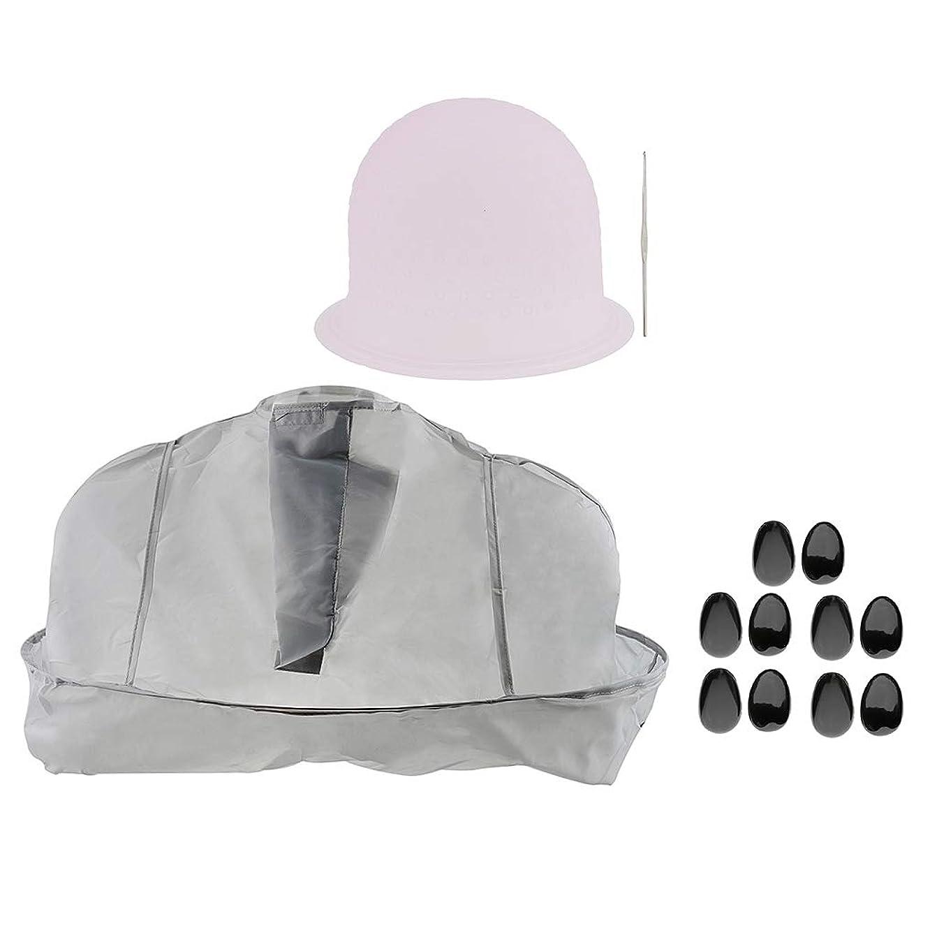 有名仕事社会学B Blesiya ヘアサロン 美容院 ヘアカラー 色付け 帽子 キャップ 耳のカバー 美容ケープ