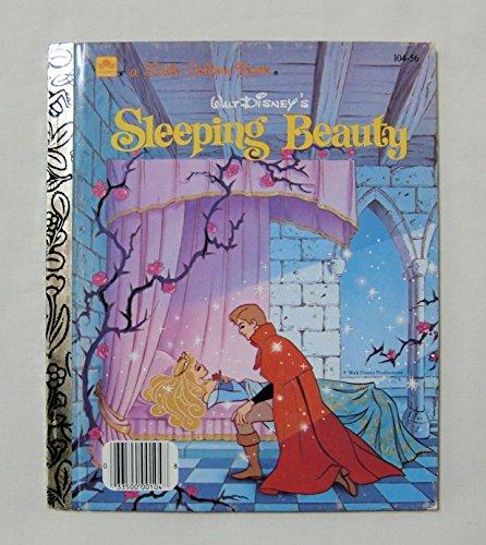 【眠れる森の美女 WALT DISNEY'S SLEEPING BEAUTY】 リトル・ゴールデン・ブック 洋書絵本(古本) <1986年> ディズニー