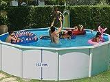 TOI - Piscina MAGNUM COMPACTA CIRCULAR 350x132 cm Filtro 3,6 m³/h