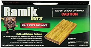 Ramik Mouse y Bares Rat Box, 4-Pound