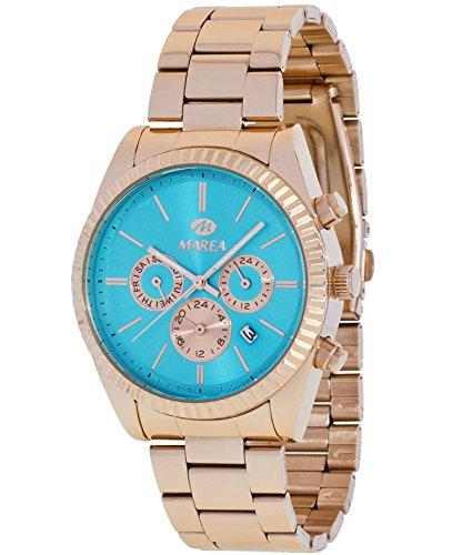 Reloj Marea Hombre B41156/10 Rosado Multifunción Azul