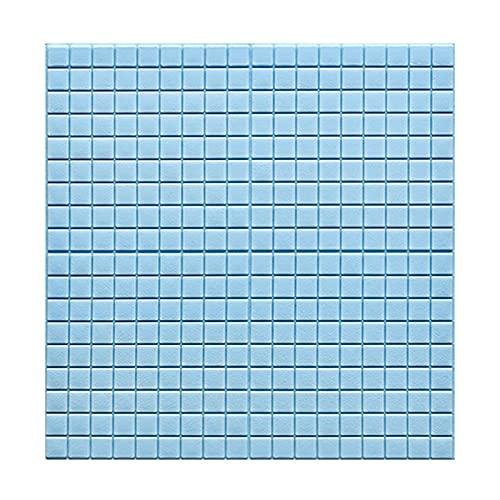 Papel De Pared 3d, Azulejos Adhesivos Resistente Calor Impermeable Protector contra Salpicaduras Vinilo Cocina Vinilos Para Baños Murales Decorativos Pared 70 * 70cm(Color:C,Size:20PCS)