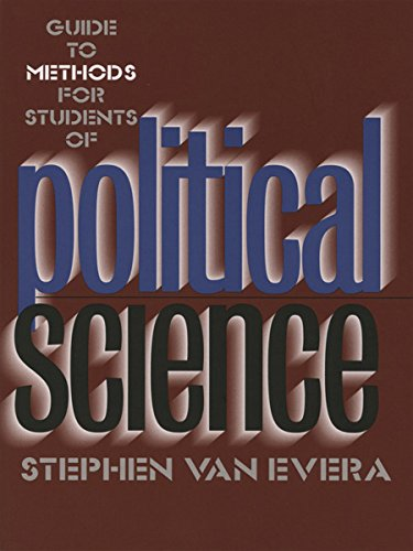 Compare Textbook Prices for Guide to Methods for Students of Political Science 1 Edition ISBN 9780801484575 by Stephen Van Evera