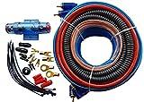 GXT Wire Kit Amplificador Conector Set 8mm AAC incl. Cable de altavoz, flexible y completo