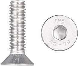 16 Festnight A2 IS07380 Viti a testa cilindrica con esagono incassato in acciaio inossidabile 304 Viti M8