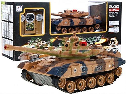 BSD RC Ferngesteuertes Panzer T90 Mit Rauch 2.4 Ghz 1:24