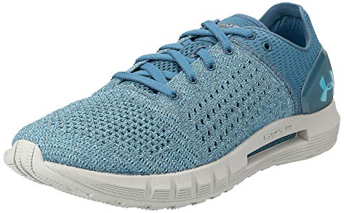 Under Armour Women's HOVR Sonic Running Shoe, Static Blue (303)/Ghost Gray, 11