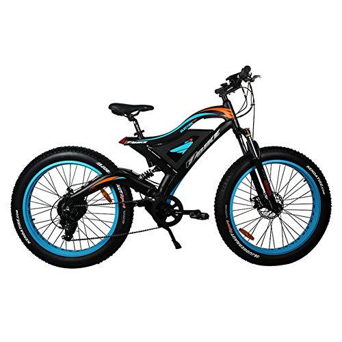 Qnlly Elektrisches Fahrrad 48v 500w Gebirgshybrides ebike innerhalb 10.4AH Li-on Batterie-Stadt-fetten Reifen-Straßen-elektrischen Fahrrades