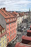 The Graz Austria Journal: 150 page lined notebook/diary