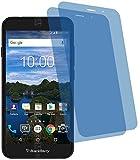 4ProTec I 2X Crystal Clear klar Schutzfolie für BlackBerry Aurora Premium Bildschirmschutzfolie Displayschutzfolie Schutzhülle Bildschirmschutz Bildschirmfolie Folie Panzerfolie