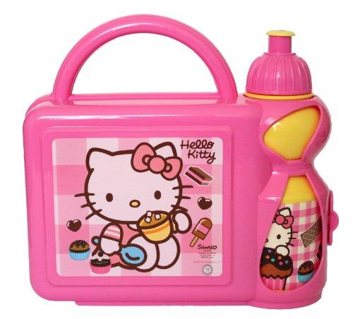 Boîte repas avec gourde de hello kitty sanrio kit boîte repas-lunch box