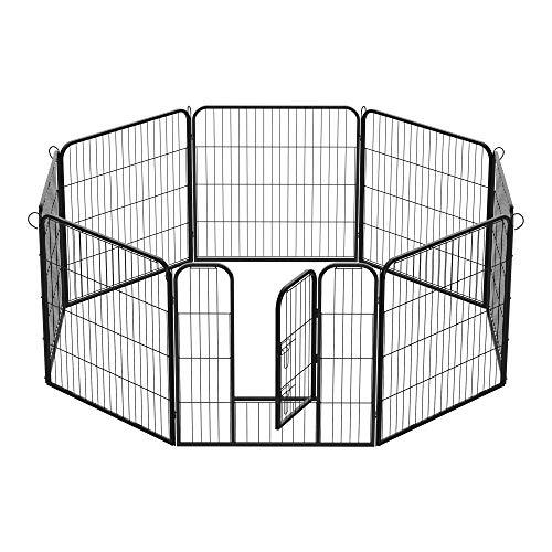 PawHut Recinto per cuccioli Recinzione per animali dimensioni: 80x80cm