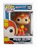 Funko Pop Games Mega Man Fire Storm Exclusive Variant Vinyl Figure