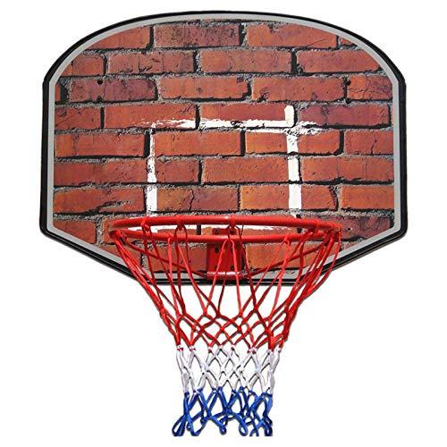 Aro De Baloncesto Colgante para Adultos, Tablero De Baloncesto, Soporte De Baloncesto Estándar para Exteriores, Equipamiento Deportivo Juvenil,B
