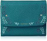 [フレームワーク] 財布 「プルーズ」中Lファスナー付折財布 0041801 ターコイズブルー