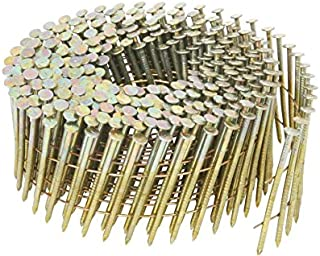 Hitachi 13334 1-3/4-Inch x 0.092-Inch Ring Shank Electro-Galvanized Wire Coil Siding Nails, 3600-Pack