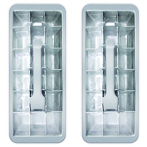 18 Cube Vintage Kitchen Ice Cube Tray 2-Pack