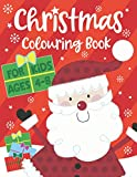 Christmas Colouring Book For Kids ages 4-8 (UK Edition): Children's Colouring Books age 4-8 year olds