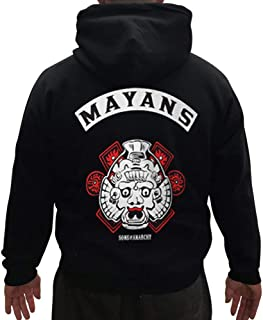 Sons of Anarchy Officially Licensed Merchandise Los Mayans Hoodie