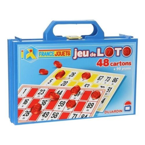 Dujardin Jeux - Grand Classique - Loto 48 Cartons